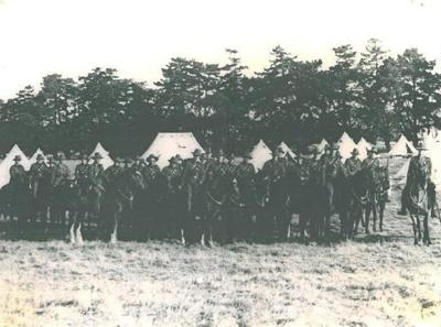 Mounted Rifles Camp, Waverley, 1935.; PH2012.0038