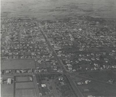 Aerial View of Hawera; PH2013.0101
