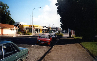 Coloured Photograph off one of Hawera's Streets; 2013.069