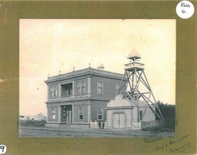 Hawera Borough Chambers and Fire Station; PH2012.0004