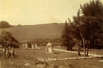 Waihī Cemetery; PH2012.0079