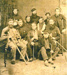 Wounded troops, 1914-18 war.; PH2012.0043