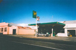 Waverley Fire Station and BP Service Station. Weraroa Road, Waverley.; PH2012.0027
