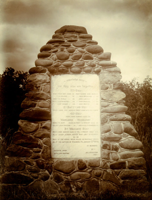 Cairn, Ohawe Cemetery; PH2012.0073