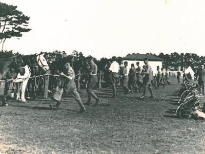 Waverley Camp, 1935.; PH2012.0039
