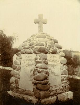Cairn, Waihi Cemetery, 1912; 1912; PH2012.0072