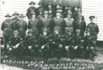 Officers and NCOs, NZ Mounted Rifles Brigade. Trentham camp, 10 September 1934.; PH2012.0045