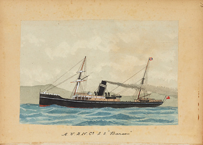"Painting: A.U.S.N. CO. S.S. ""BARCOO""; F.W. Coombes; 1994.97.16"