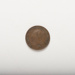 Coin: Victorian half farthing dated 1842.; Royal Mint, UK; 2017.8.32
