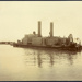 Photograph: Suction dredge No. 2, Auckland, date unknown.; Auckland Harbour Board. Engineer's Dept.; 2010.132.314