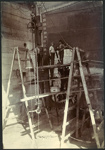 Photograph: NIAGARA (1913) in Calliope Dock, 1915.; Auckland Harbour Board. Engineer's Dept.; 2010.132.337