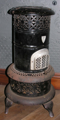 Valor kerosene heater ex Auckland Harbour Board; Valor; 1989.40.79