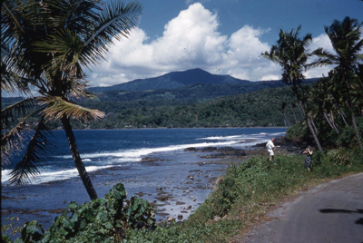 Slide: View of coast; Sybil Dunn; Keith Dunn; 2013.264.206