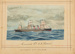 "Painting: Cunard Co.'s SS ""SERVIA"" Liverpool and New York; F.W. Coombes; 1994.97.8"