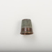 Copper thimble stamped with number 3.; 2017.8.24