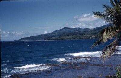 Slide: View of coast; Sybil Dunn; Keith Dunn; 2013.264.205