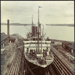 Photograph: NIAGARA (1913) in Calliope Dock, 1915.; Auckland Harbour Board. Engineer's Dept.; 2010.132.331