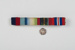 Medals, ribbon bar for wartime medals awarded to George M Parsons; 2016.116.6