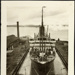 Photograph: NIAGARA (1913) in Calliope Dock, 1915.; Auckland Harbour Board. Engineer's Dept.; 2010.132.332