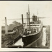 Photograph: NIAGARA (1913) in Calliope Dock, 1915.; Auckland Harbour Board. Engineer's Dept.; 2010.132.333