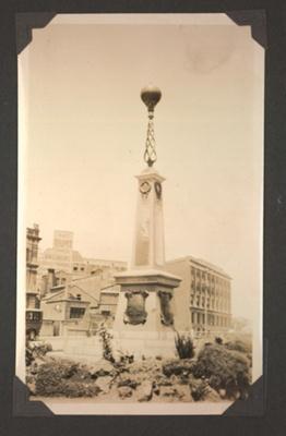 Photograph: Auckland Harbour Board war memorial; Foss Tackaberry; 2015.69.4