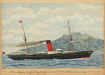 Painting: The Union Co. of New Zealand S.S.