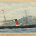 "Painting: The Union Co. of New Zealand S.S. ""ROTOMOHANA"" (1727 tons 2000 H.P.); F.W. Coombes; 1994.97.34"