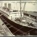 Photograph: NIAGARA (1913) in Calliope Dock, 1915.; Auckland Harbour Board. Engineer's Dept.; 2010.132.329