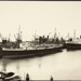 Photograph: Shipping at Princes Wharf, 1930.; Auckland Harbour Board. Engineer's Dept.; 2010.132.77