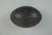 Bird egg: emu, Dromaius novaehollandiae; Frances Shakespear; 2015.232.139