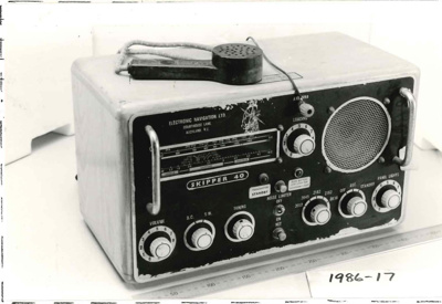 Radio telephone, Skipper 40; Electronic Navigation Ltd; 1986.17