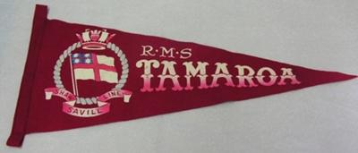 Pennant: RMS TAMAROA; 2012.6.1