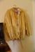 Lifejacket: yellow vinyl long-sleeved lifejacket; A. Foster & Co; 2000.76