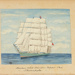 Painting: Aberdeen White Star Line Clipper Ship - THERMOPYLAE; F.W. Coombes; 1994.97.13