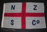 New Zealand Shipping Company House Flag; 2011.76
