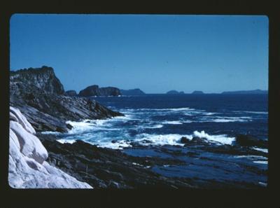 Slide: 'Ohena coast from light'; Reginald Squire; 2015.63.44
