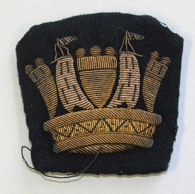 Badge: Naval Crown; 2015.90.79