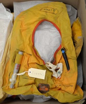 Lifejacket: RFD type 80 mark 3; RFD Beaufort Ltd