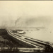Photograph: Reclamation east of Power Station, Auckland, 1919.; Auckland Harbour Board. Engineer's Dept.; 2010.132.357
