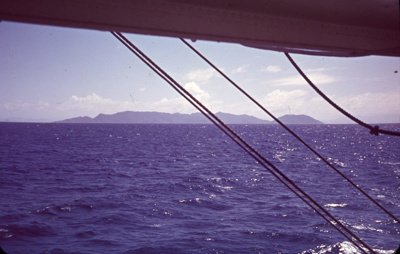 Slide: View from TOFUA; Sybil Dunn; Keith Dunn; 2013.264.20