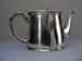 Shaw Savill Line silver tea pot, Walker & Hall    Sheffield England, Mid 20th century, 15594
