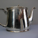 Shaw Savill Line silver tea pot, Walker & Hall    Sheffield England, Mid 20th century, 15594
