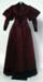 Dress; c.1895; 967/201.1-2