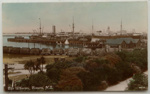 The Wharves, Timaru, N.Z. 4619 (Tanner Bros Ltd. Maoriland Photographic Series); Tanner Bros Ltd; 1938; 2002/128.12