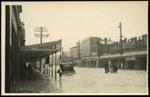 [Flooding of King Street, Temuka]; 1945; 3084