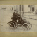 [Cecil Woods and his motor car]; Mahan; 1901-1902; 1374
