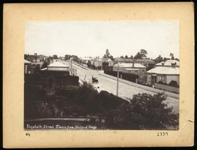 Elizabeth Street Timaru from Stafford House / [Caroline Bay]; 1903-1910; 2339