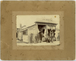 [J S Keith's Sailmaker and Ships Chandler Store, Timaru]; 1890-1900; 2765