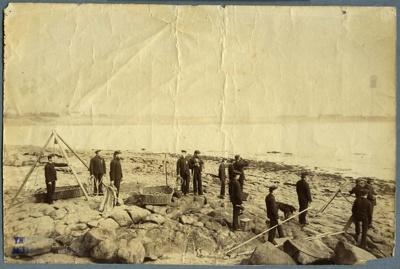 [Timaru Volunteer Rocket Brigade]; Ferrier, William; 1882-1888; 0844