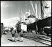[Loading at No.1 wharf, Timaru Harbour]; 1940-1950; 3733